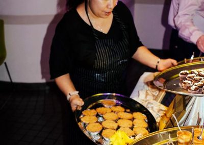 Grub Hollywood Restaraunt Caters the event