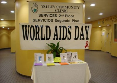 World AIDS Day 2008 at VCC